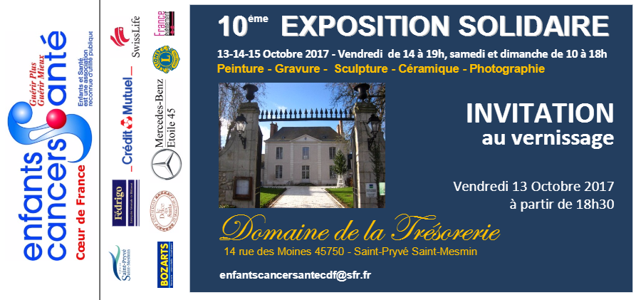 sculpture, exposition solidaire 2017